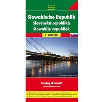Mapy i atlasy turystyczne, Freytag & Berndt Autokarte Slowakische Republik. Slovenská republika. Slowakije republiek; Slovak Republic; Slovaquie République (opr. broszurowa)