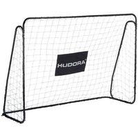 Piłka nożna, Bramka piłkarska XXL HUDORA 300x205cm czarna