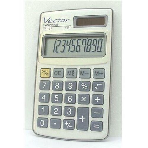 Kalkulatory, Kalkulator VECTOR DK-137
