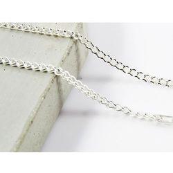 Srebrny (925) łańcuszek LISI OGON 50 cm DZIEŃ MAMY