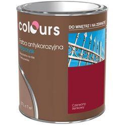 Farba antykorozyjna Colours czerwona tlenkowa 0,7 l