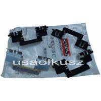 Odpowietrzniki zacisku hamulcowego, Zestaw montażowy tylnych klocków Chevrolet Avalanche 2007-