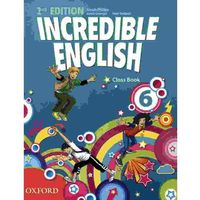 Książki do nauki języka, Incredible English 6 SP Podręcznik 2E. Język angielski (opr. miękka)