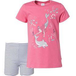 SANETTA Piżama ciemny niebieski / różowy / biały