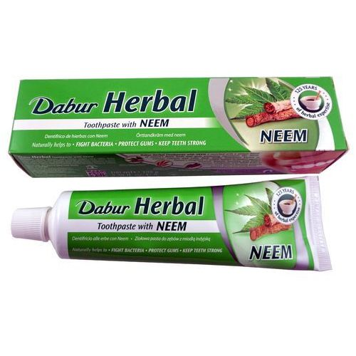 Pasty do zębów, Dabur Herbal NEEM pasta do zębów z neem 100 ml