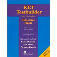 Książki do nauki języka, KET testbuilder with answer key + CD (opr. miękka)