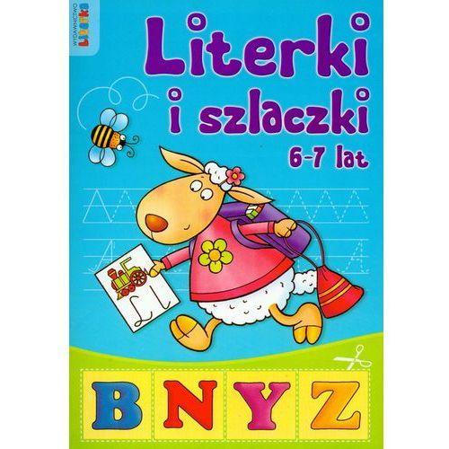 Książki dla dzieci, Literki i szlaczki 6-7 lat (opr. miękka)