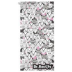 Ręcznik treningowy Dr.Bacty L Kotki białe - Kotki białe