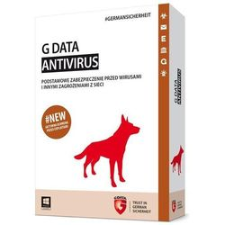 AntiVirus G Data 2015 KONT 3PC 1ROK BOX