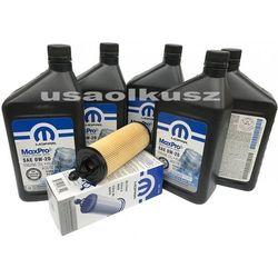 Olej Mopar 0W20 oraz oryginalny filtr Chrysler Pacifica 3,6 V6