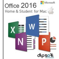 Microsoft Office Mac Home & Students 2016 EuroZone ESD PL