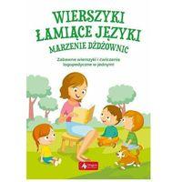 Książki dla dzieci, Wierszyki łamiące języki. Marzenie dżdżownic (mk) (opr. miękka)
