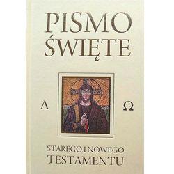 PISMO ŚWIĘTE /WDS CZARNE PAGINATOR (opr. twarda)