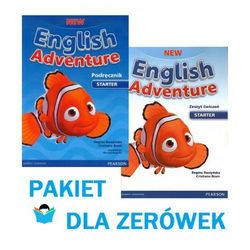 New English Adventure Starter. Zestaw podręcznik z DVD + ćwiczenia z CD [Cristiana Bruni, Regina Raczyńska]