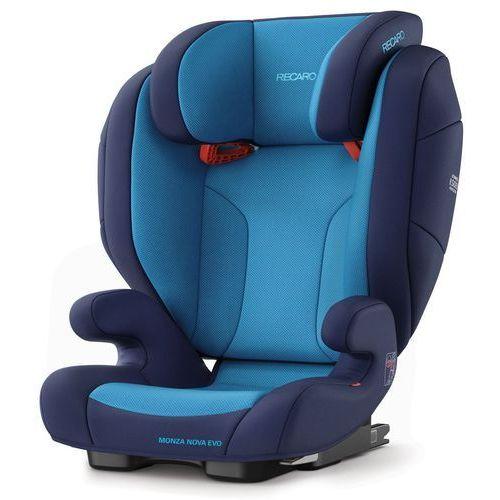 Foteliki grupa II i III, RECARO Fotelik 15-36kg Monza Nova Evo Seatfix Xenon Blue