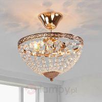 Lampy sufitowe, Hanaskog 100486 plafon kryształowy 2x40W E14 Markslojd