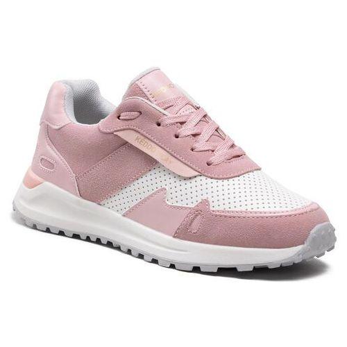 Damskie obuwie sportowe, Sneakersy KEDDO - 817113/01-03 White/Pink