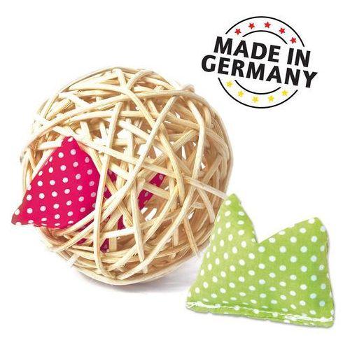 Pozostałe zabawki, Aumüller Mini-Baldi rattanowa kula dla kota - 1 sztuka | -5% Rabat na pierwsze zamówienie | DARMOWA Dostawa od 99 zł