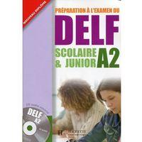 Książki do nauki języka, Preparation a l'examen du DELF A2 Scolaire & Junior +CD (opr. miękka)
