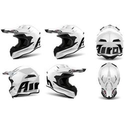 Kask AIROH TERMINATOR OPEN VISION COLOR WHITE GLOSS