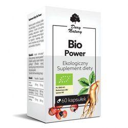 Bio Power 60kaps. Ekologiczny Suplement diety DARY NATURY