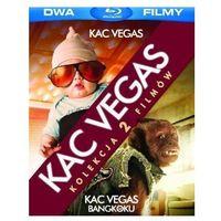 Filmy komediowe, BD 2 PACK KAC VEGAS/KAC VEGAS W BANGKOKU GALAPAGOS Films 7321999311469