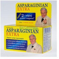 Asparginian Magnezu Potasu Extra 50 tabl.
