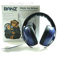 Pozostałe bezpieczeństwo w domu, Słuchawki ochronne nauszniki dzieci 0-3lat BANZ - Navy