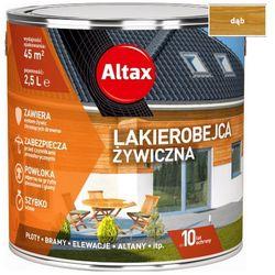ALTAX- lakierobejca żywiczna, dąb, 5l