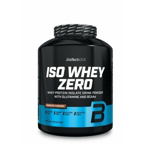 Odżywki białkowe, Biotech Iso Whey Zero Lactose Free 2270g Czekolada + Gallon 1,9L