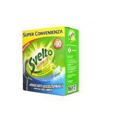 Svelto Zielona Cytryna - Tabletki do zmywarki (90 szt)