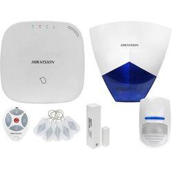 ZA12662 Bezprzewodowy system alarmowy GSM 4G 1 czujki ruchu HIKVISION z sygnalizatorem i pilotem