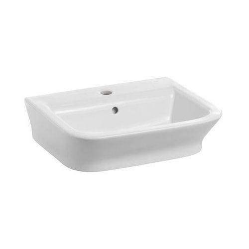 Umywalki, Umywalka 50x42 cm nablatowa/ścienna biała Roca Gap A327476000