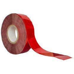 Taśma odblaskowa konturowa czerwona 1 metr