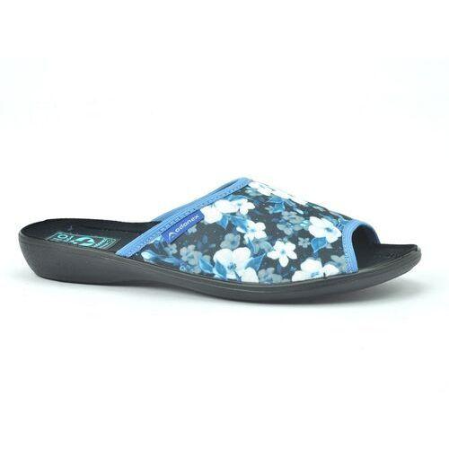Pozostałe obuwie damskie, Pantofle adanex 24702 czarny