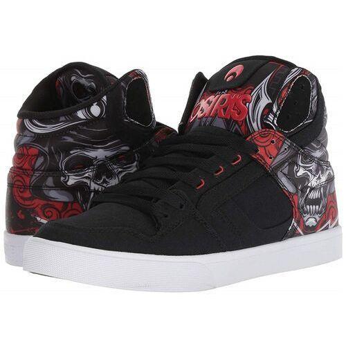 Męskie obuwie sportowe, buty OSIRIS - Clone Huit/Samurai/Red (2642)