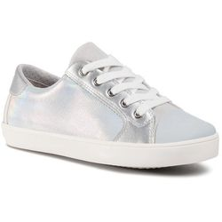Trampki GEOX - J Gisli G. A J024NA 0NFBC C0434 S Silver/White