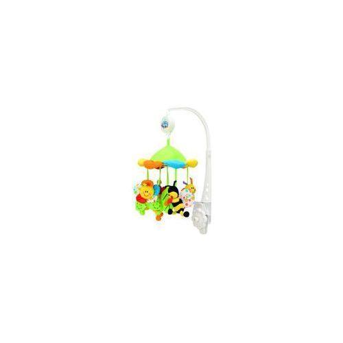 Karuzele dla niemowląt, Karuzela pluszowa CANPOL BABIES Kolorowa łąka 2/984 + Zamów z DOSTAWĄ JUTRO!
