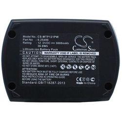 Metabo BS 12 SP / 6.25486 3000mAh 36.00Wh Ni-MH 12.0V (Cameron Sino)