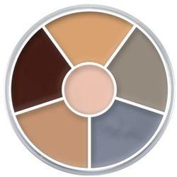 Kryolan CREAM COLOR CIRCLE (CORPSE) Kółko 6 kolorów farb Supracolor - CORPSE (1306)
