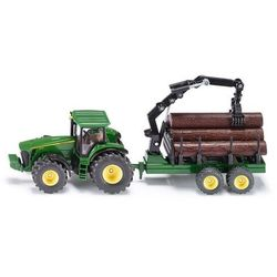 Traktor z Przyczepą Leśną