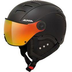 Alpina Jump 2.0 QVMM Kask narciarski, black matt 61-63cm 2019 Kaski narciarskie