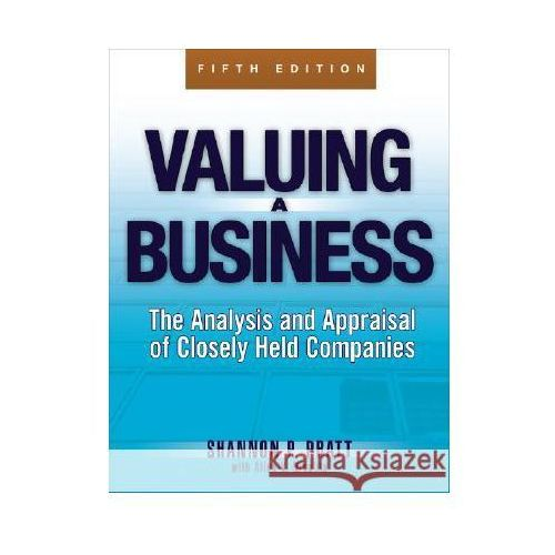 Biblioteka biznesu, Valuing a Business 5e