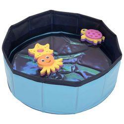 Kitty Pool, basen z zabawkami - Kolor: niebieski| -5% Rabat dla nowych klientów| DARMOWA Dostawa od 99 zł