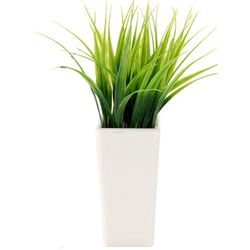 Sztuczna roślina doniczkowa, sztuczny kwiat w doniczce - trawa