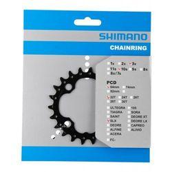 Shimano SLX FC-M672/FC-M622 Zębatka rowerowa AN 64 mm 22Z czarny Zębatki rowerowe Przy złożeniu zamówienia do godziny 16 ( od Pon. do Pt., wszystkie metody płatności z wyjątkiem przelewu bankowego), wysyłka odbędzie się tego samego dnia.