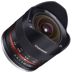 Samyang 8mm f/2.8 UMC Fisheye II Fujifilm X (czarny)