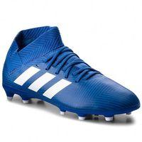 Piłka nożna, Buty adidas - Nemeziz 18.3 Fg J DB2351 Fooblu/Ftwwht/Fooblu