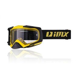 GOGLE IMX DUST - SZYBA DARK SMOKE + CLEAR Yellow/Black Matt