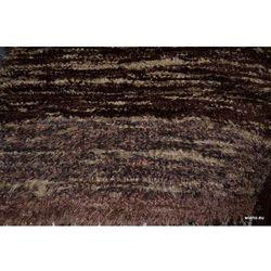 Chodnik bawełniany ręcznie tkany brązowy jasny, ciemny 65x120 cm